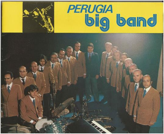 La Perugia Big Band in uno scatto di fine anni '70.