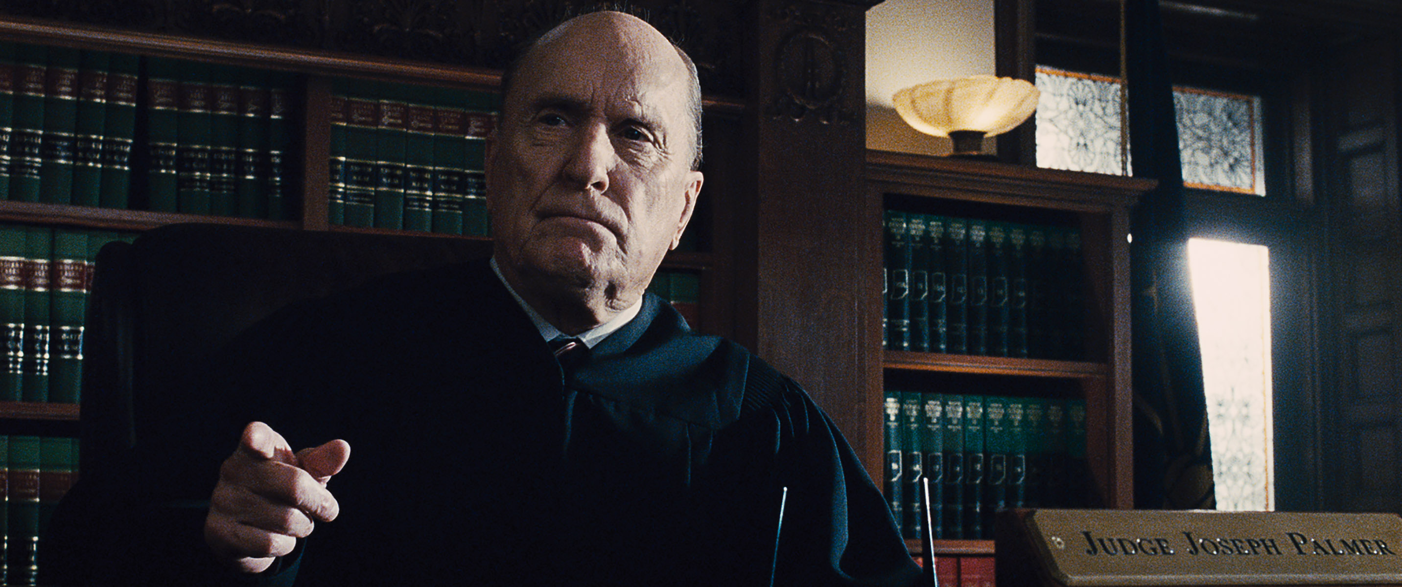 "Robert Duvall sul set di ""The Judge"" di David Dobkin, 2014"