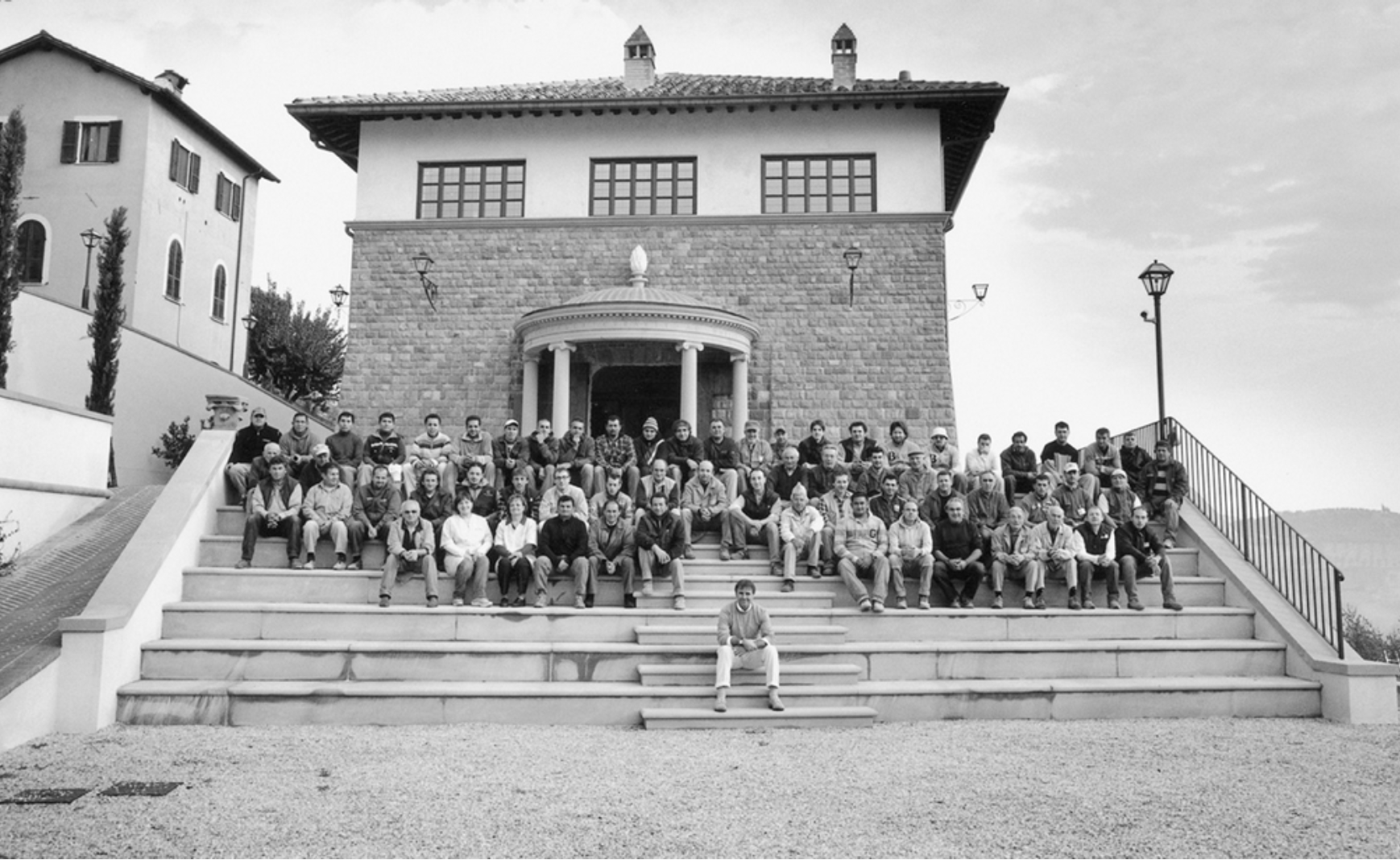 Brunello Cucinelli and the workers that made his theater