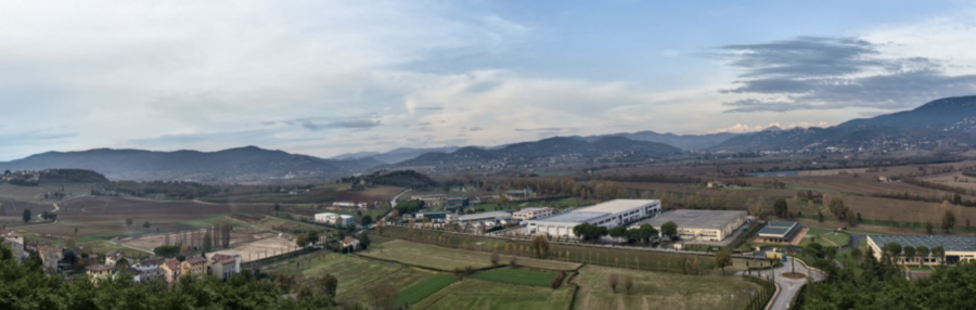 The Cucinelli factories in Solomeo